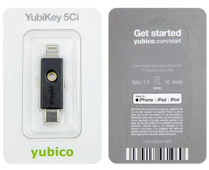 YubiKey 5Ci w opakowaniu
