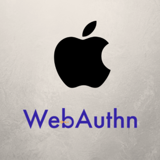 Apple Webauthn
